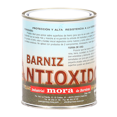 Imagen barniz antioxido