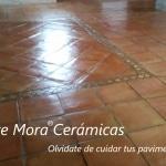 Aceite Mora Cerámicas, para tus suelos de terracota